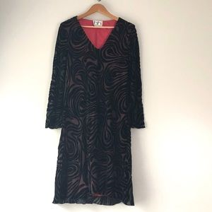 Amy Michelson for Holly Harp silk blend dress - M